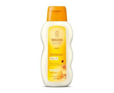 Weleda Baby Oil - Calendula (Fragrance Free) [200ml]