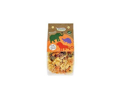 Little Pasta Tri Colour Animal Pasta  Spinach & Tomato 130g