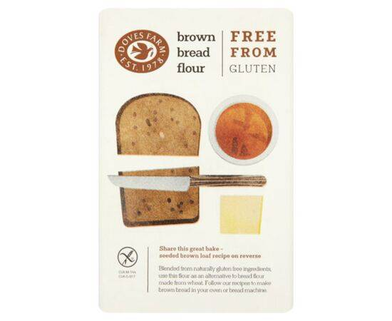 Doves Farm Brown Bread Flour 1kg