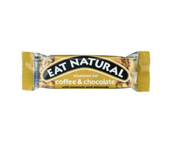 Eat Natural Coffee Chocolate Peanut & Almond Bar 45g x 12 - ArryBarry