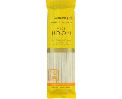 Clearspring Japanese Wide Udon Noodles [200g]
