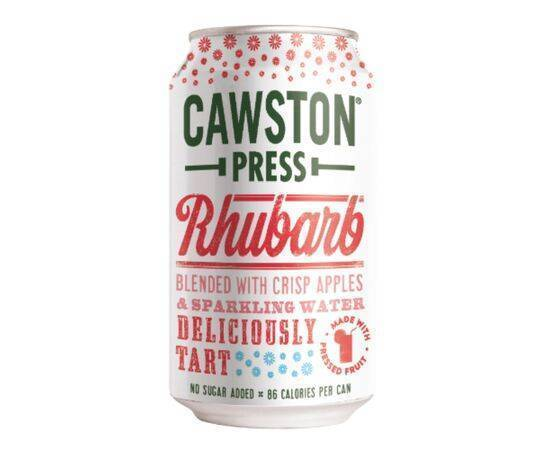 Cawston Sparkling Rhubarb Can [330ml]