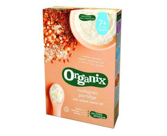 Organix Multi Grain Porridge 7m+ [200g x 4]