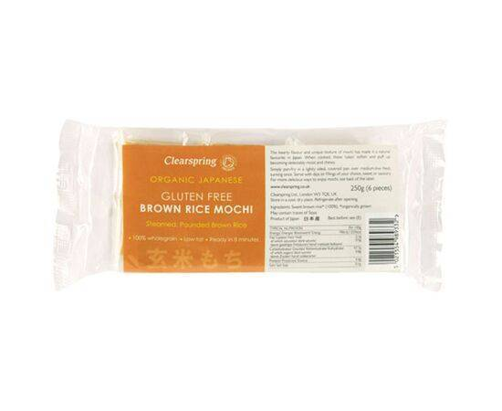 Clearspring Organic Gluten Free Japanese Brown Rice Mochi 250g