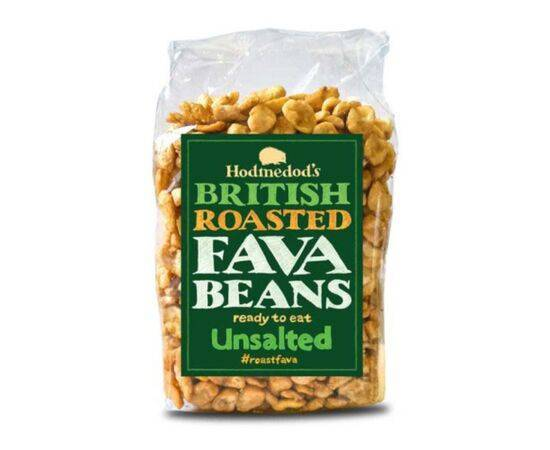 Hodmedod'S Roasted Fava Beans  Unsalted 300g