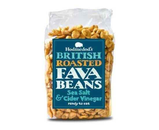 Hodmedods Roasted Fava Beans - Salt & Vinegar [300g]