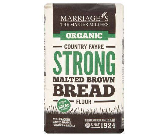 Marriages Country/F Org St Malt B/Bread Flour [1kg x 6]