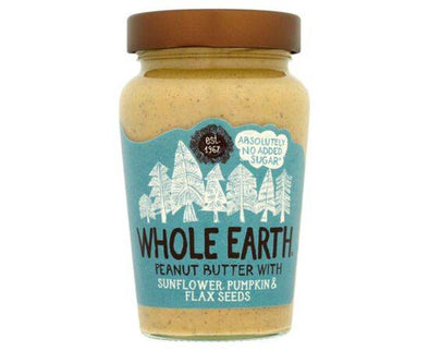 Whole Earth Peanut Butter With Mixed Seeds 340g