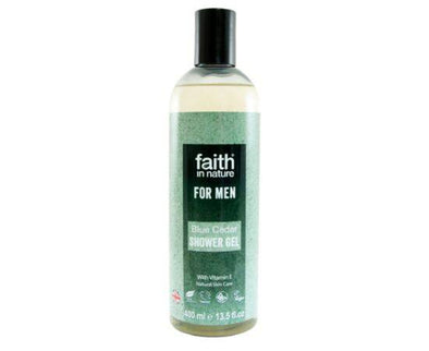 Faith Blue Cedar Shower Gel [400ml]