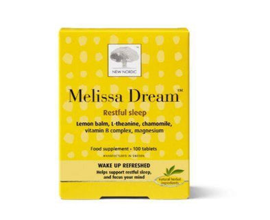 New Nordic Melissa Dream Tablets [100s]