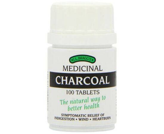 Braggs Medicinal Charcoal Tablets 100s