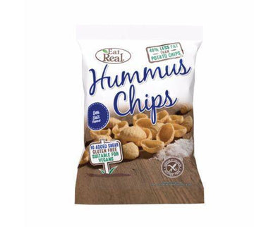 Eat Real Hummus Sea Salt Chips 45g x 12