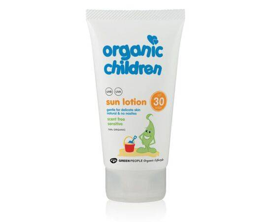 Green/Ppl Childrens Scent Free Sun Lotion Spf30 [150ml]