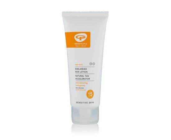 Green/Ppl Spf15 Sun Lotion With Tan Accelerator [100ml]