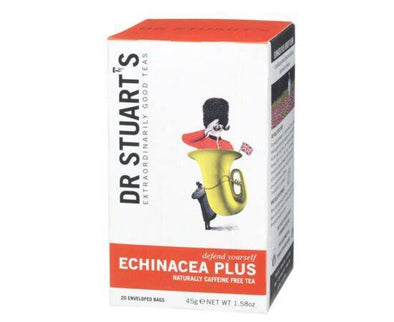 Dr Stuarts Echinacea Enveloped Tea 15 Bags x 4