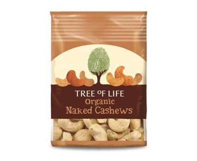 Tree of Life Org Naked Cashews [40g x 8]