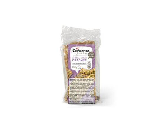 Consenza Cheese & Pumpkin Seed Crackers [250g x 6]
