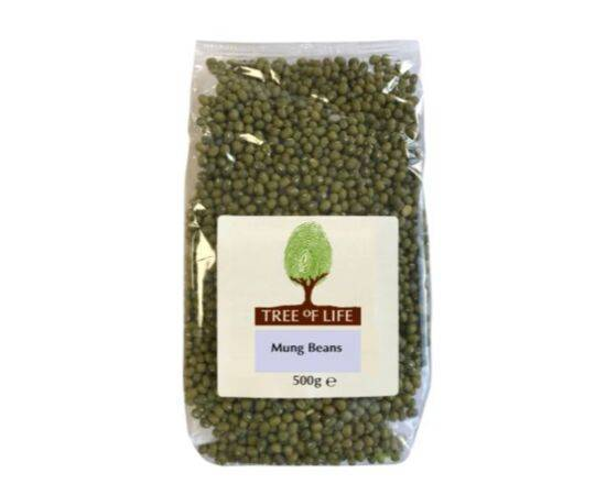 Tree Of Life Beans - Mung [500g x 6]