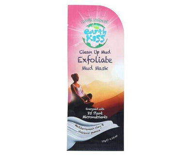 Earth Kiss Clean Up Exfoliate Mud Mask 20g - ArryBarry