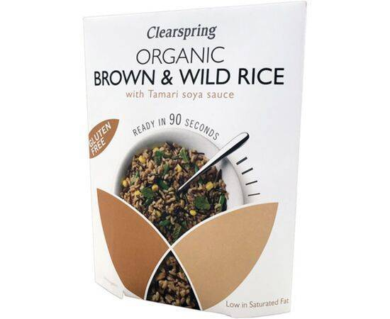 Clearspring 90 Sec BrownRice With Tamari [250g]
