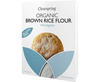 Clearspring Org GF BrownRice Flour [375g]