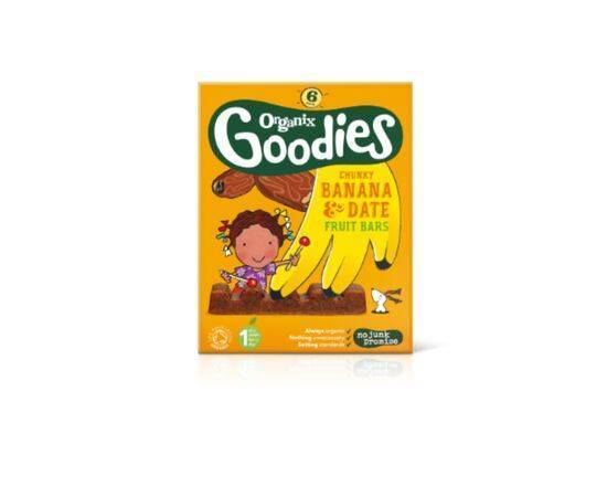 Goodies Date/Ban Fruit Bars Multi 12m+ [(17gx6) x 6]