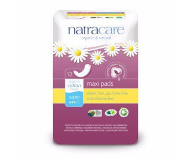 Natracare Natural Panty Liners Curved 12s