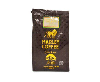 Marley Buffalo Soldier DkRst Whole Bean Coffee [227g]