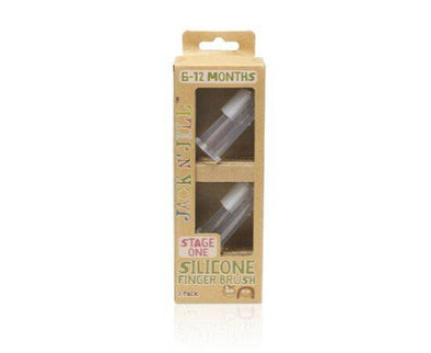 Jack/Jill Silicone FingerBrush St 1 [2 Pack]