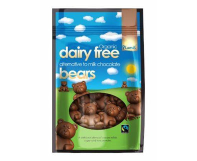 Plamil Org/FT Milk Choc Alt Bears in Bag [125g x 6]