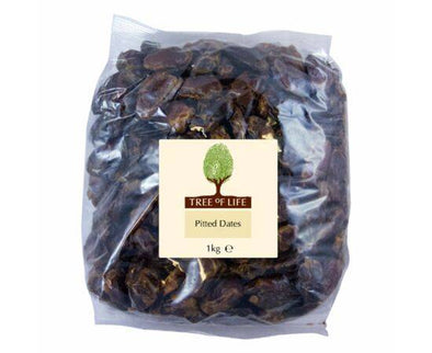 Tree Of Life Dates - Pitted [1kg x 6]