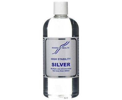 Rivers Of Health Colloidal Silver  High Stability 500ml
