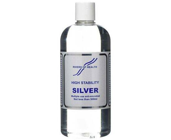 Rivers Of Health Colloidal Silver High/Stab [500ml]