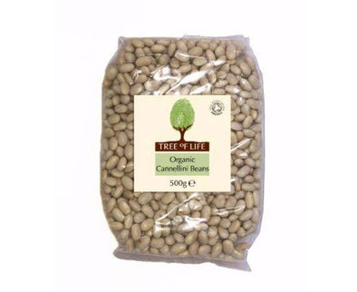 Tree Of Life Organic Cannellini Beans [500g x 6]