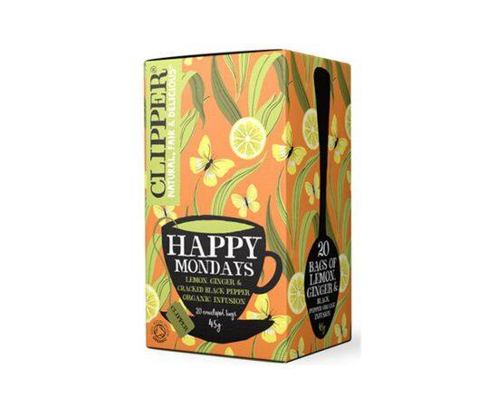 Clipper Happy Mondays Lem/Ginger B'Pep [20 Bags]
