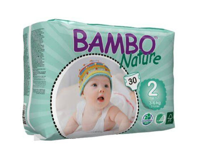 BAMBO NATURE NAPPIES MINI SIZE 2 30S