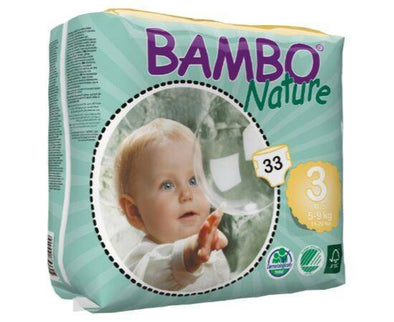 BAMBO NATURE NAPPIES MIDI SIZE 3 33S