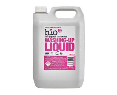 BioD WashingUp Liquid  Grapefruit 5Ltr