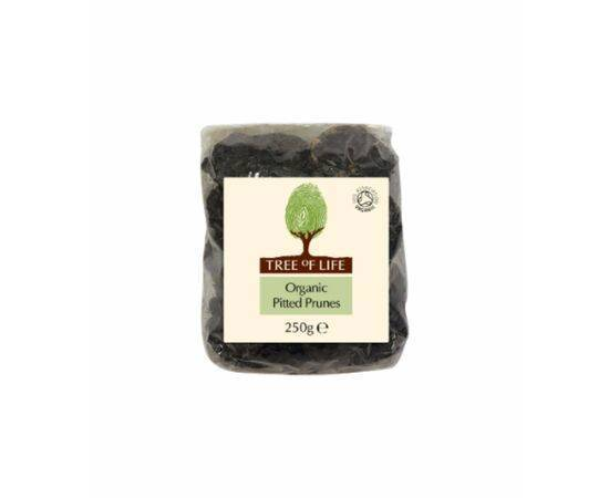 Tree Of Life Organic Prunes  Pitted 250g x 6
