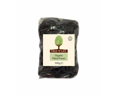 Tree Of Life Organic Prunes - Pitted [500g x 6]