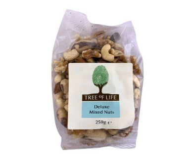 Tree Of Life Nuts - Deluxe Mixed [250g x 6]