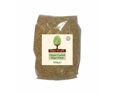 Tree Of Life Organic Wheat  Cracked Bulgar 500g x 6