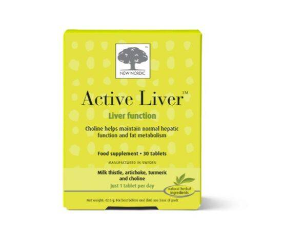 New Nordic Active Liver Tablets [30s]