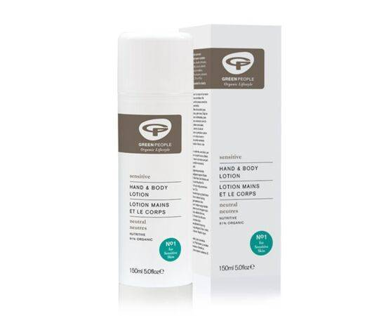 Green People Scent Free Sensitive Skin Hand & Body Lotion 150ml