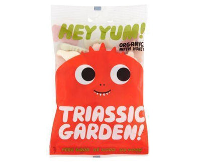 Hey Yum Triassic/G Org Yog Fruit/G Candy [100g x 8]