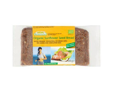Mestemacher Sunflower Seed Bread - Organic [500g] - ArryBarry