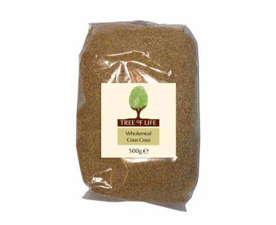 Tree Of Life Cous Cous - Wholemeal [500g x 6]