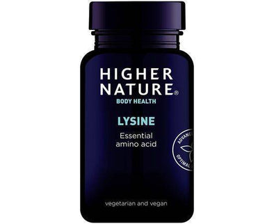 Higher Nature 500Mg Lysine Tablets 90s
