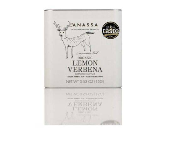 Anassa Lemon Verbena Loose Leaf Herbal Infusion 15g