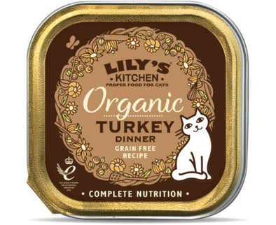 Lilys/K Organic Turkey For Cats [85g x 19]